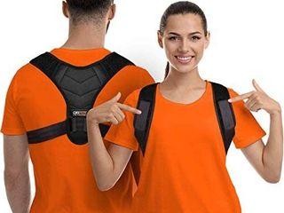 Posture Corrector for Men and Women  Upper Back Brace for Clavicle Support  Adjustable Back Straightener and Providing Pain Relief from Neck  Back   Shoulder   Universal   Regular