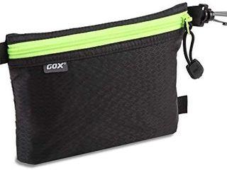 GOX Carry On Travel Zipper Pouch Toiletry Bag Digital bag Packing Bag Organizer  Orange