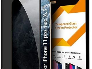 Privacy Screen Protector for iPhone 11 Pro MAX Xs MAX  Premium 4D Curved Edge to Edge Full Coverage Anti Spy Tempered Glass Screen Protector for iPhone 11 Pro MAX 2019   Xs MAX