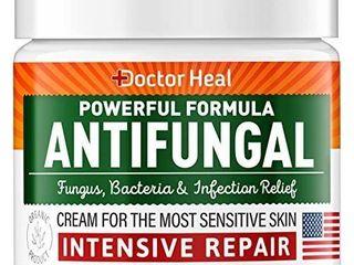 Doctor Heal Antifungal Cream   Athletes Foot Cream   Made in USA   Fungus  Jock Itch  Body Acne   Athletes Foot Treatment   Fungus Cream