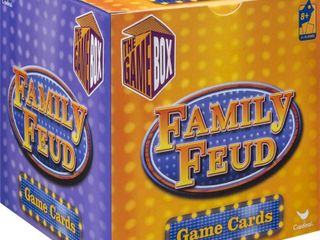 Family Feud card game  small travel game