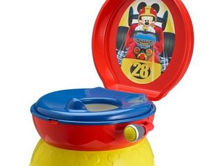 Disney Mickey Mouse Racer 3 in 1 Potty Training Toilet  Toddler Toilet Training Set   Step Stool