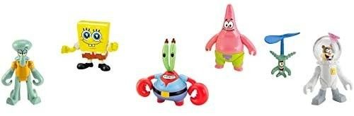 Fisher Price Imaginext SpongeBob Figure 6 Pack for Kids 3 Years  figure s may very