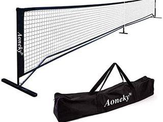 Aoneky Portable Pickleball Net System   Picklenet Outdoor Game Set   Pickle Ball Net