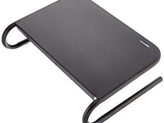 Amazon Basics Metal laptop Computer Monitor Riser Stand   Black