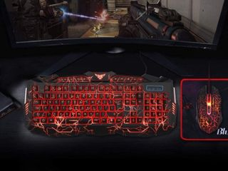 BlueFinger Gaming Keyboard and Mouse Combo Gaming Mouse and Keyboard