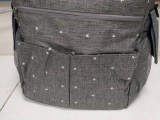 Grey Thermal lunch Bag backpack cooler