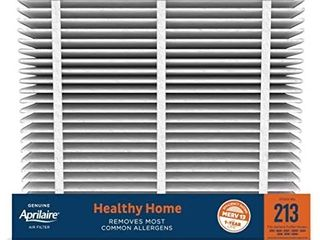 Aprilaire   213 A1 213 Replacement Air Filter for Whole Home Air Purifiers  Healthy Home Allergy Filter  MERV 13  Pack of 1