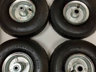 Set of 4  4 10 3 50 4 Tires  K 353A1 lG 4 201  2 Ply Tube Tyre