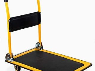 MaxWorks 80877  Foldable Platform Truck Push Dolly 660 lb  Weight Capacity