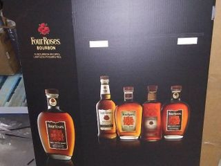 Four Roses Bourbon Valentine s Bin Display with Header   Pack of 2