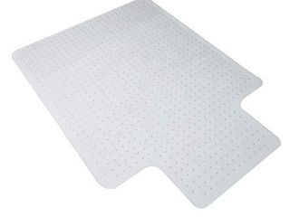 OFM ESS Collection Chair Mat with lip for Carpet  36  x 48  Clear   2