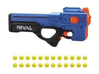 Nerf Rival Charger MXX 1200 Motorized Blaster   12 Round Capacity  100 FPS Velocity   Includes Official Nerf Rival Rounds   Team Blue