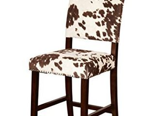 linon Udder Madness Corey Counter Stool Seats  19 W x 22 25 D   SEATS ONlY  No legs  back