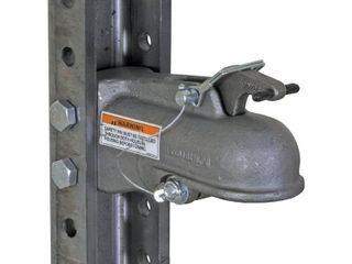 Buyers Products 12869 Heavy Duty 2  31 inch Cast Coupler   5 Position Mounting Channel