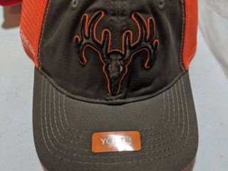 NEW Field And Stream Youth Adjustable Deer Baseball Cap Hat One Size Fits All451 case of 12