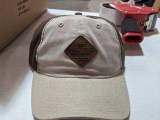 NEW Field and stream men s color block patch cap brown case of 12