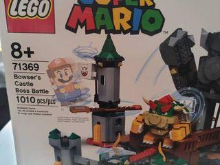 lego Super Mario Bowseras Castle Boss Battle Expansion Set 71369 Building Kit