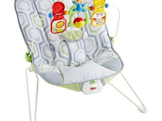 Fisher Price Bouncer   Geometric Meadow appears used
