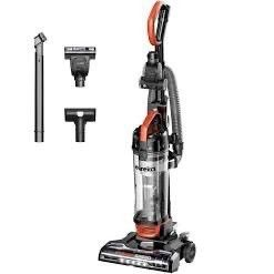Eureka PowerSpeed Turbo Spotlight lightweight Upright Vacuum Cleaner  for Carpet and Hard Floor  Pet Tool  Orange