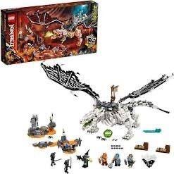lEGO NINJAGO Skull SorcererIJs Dragon 71721  box only