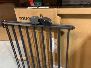 Munchkin Push to Close Extending Metal Baby Gate  Black