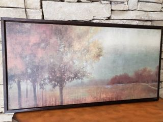 Wilderness  Trees  and Grass   Framed Wall Art   42  x 22