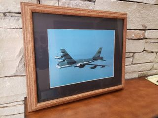Military Plane   Framed Wall Art   18 5  x 23