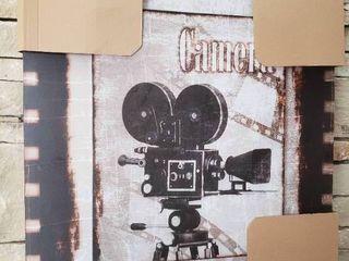 Camera   Wall Art   26  x 30