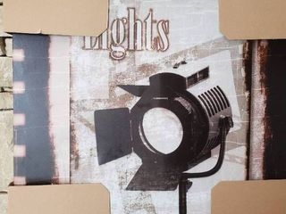 lights   Wall Art   26  x 30