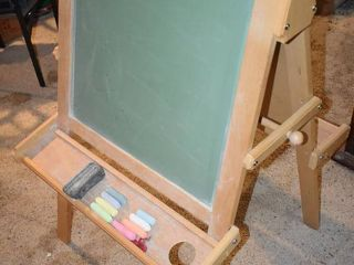 loew Cornell A Frame Easel   Chalkboard and Whiteboard   3  10  Tall