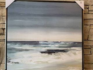 Seascape   Framed Wall Art   Matches lots 3193   3239   30  x 30