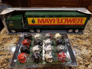 Mayflower Sound Machine Toy Semi by Nylint   NFl Helmets   16 Helmets