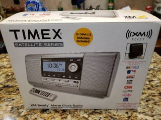 NIB Timex Satellite Series   XM Radio Alarm
