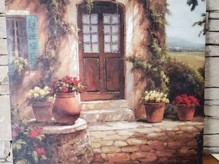 Chateau   Wall Art   34 5  x 34 5
