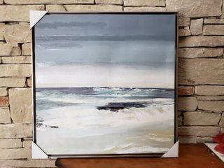 Seascape   Framed Wall Art   Matches lots 3121   3239   30  x 30
