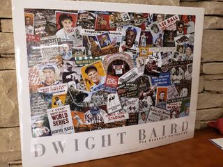 Dwight Baird  The Baseball Collection   Wall Art   30  x 24