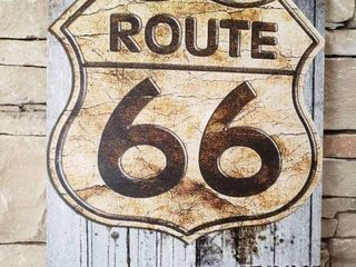 Route 66   Wall Art   19  x 27