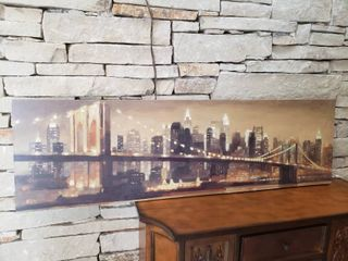 Brooklyn Bridge   Wall Art   54  x 16