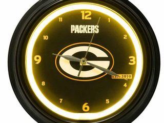 NFl lED Clock   Green Bay Packers