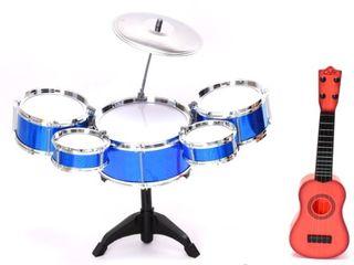 WonderPlay Drum Set   Guitar for Kids