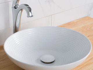 Kraus Round Ceramic Glossy Sink