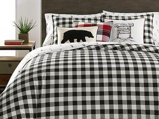 Eddie Bauer Mountain Plaid Comforter Set   Full Queen