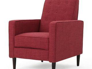 Mervynn Mid Century Fabric Recliner Chair