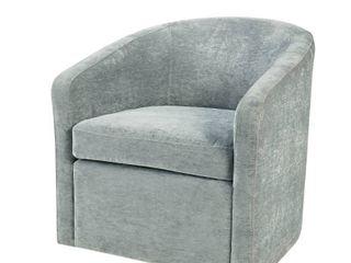 Amber Swivel Chair by Martha Stewart