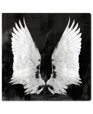 Oliver Gal My Night Wings Fashion Glam Canvas Wall Art
