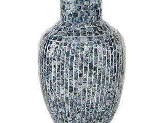 Studio 350 Mosaic Shell Patterned Vase
