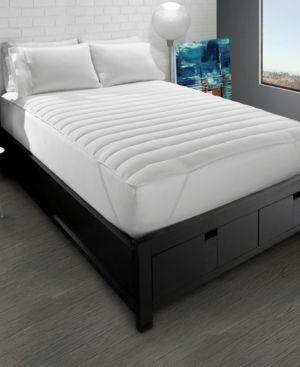 Ella Jayne Home Collection Big   Soft Fiber Bed Mattress Pad   Full