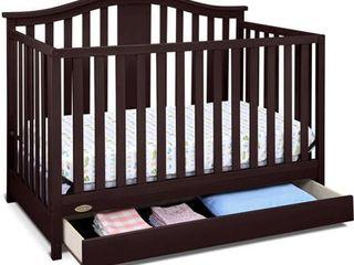 Graco Solano 4 in 1 Convertible Crib w  Drawer