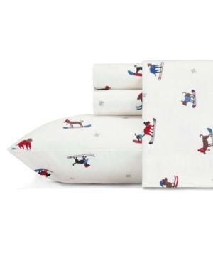 Eddie Bauer Cotton Flannel Bed Sheet Set   Twin
